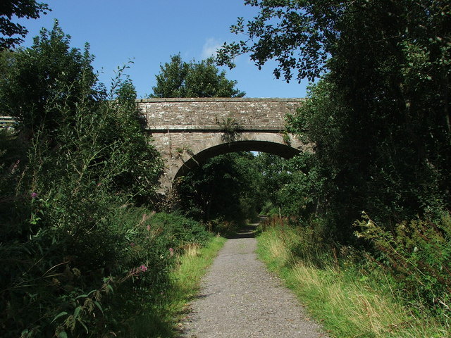 Railway bridge over the South Tyne Railway