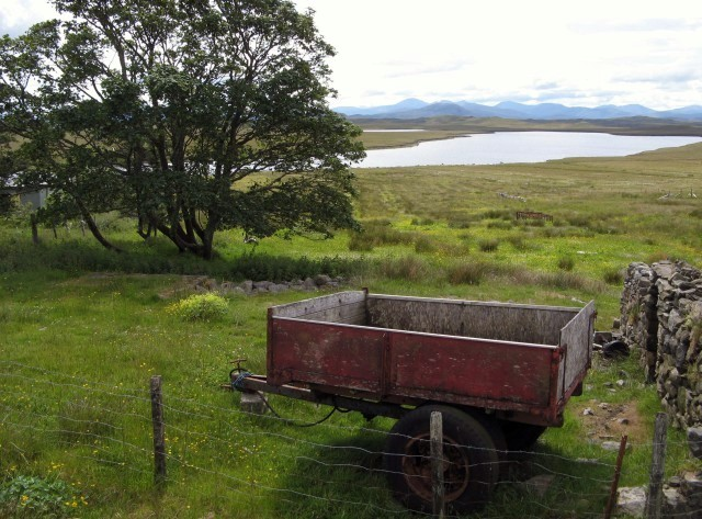 View towards Loch na Gainmhich