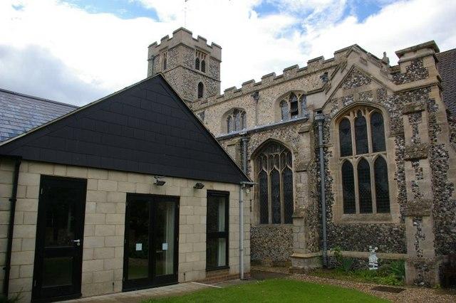 St John the Evangelist, Waterbeach, and adjoining Parish Centre