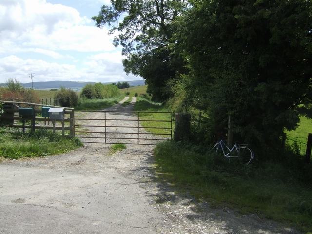 Footpath to Aston Rogers, Wallop