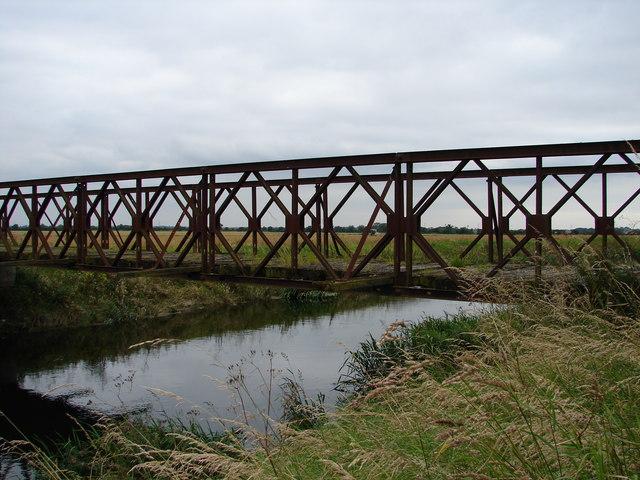 Bridge over Kyme Eau