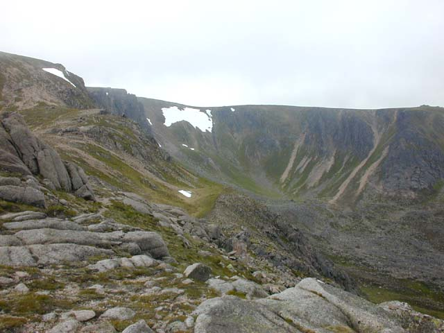 Garbh Choire from the Sneck
