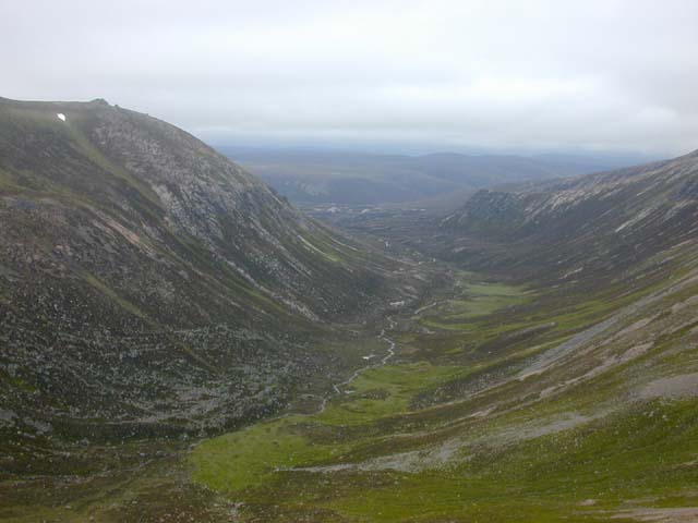 The Slochd Mor, from the Sneck