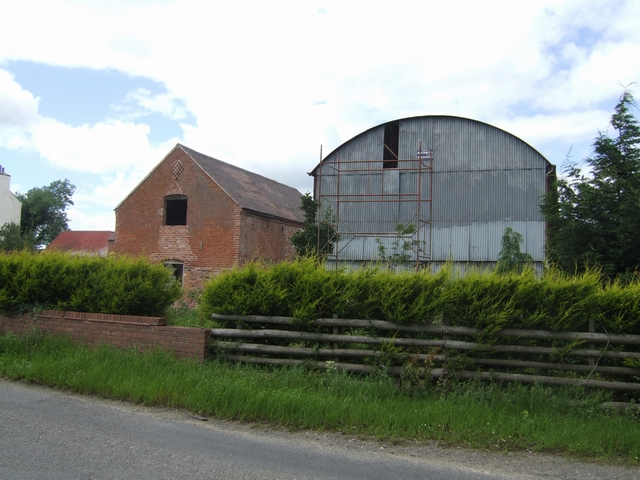 Barns awaiting conversion