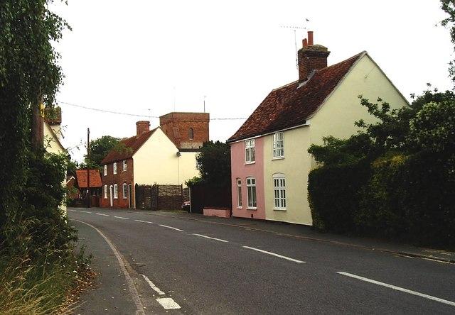 Bradfield: village and church