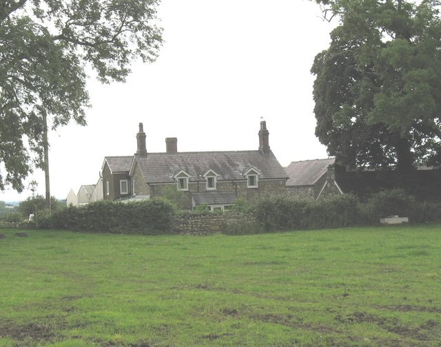 Pen Hower Uchaf Farmhouse from the front