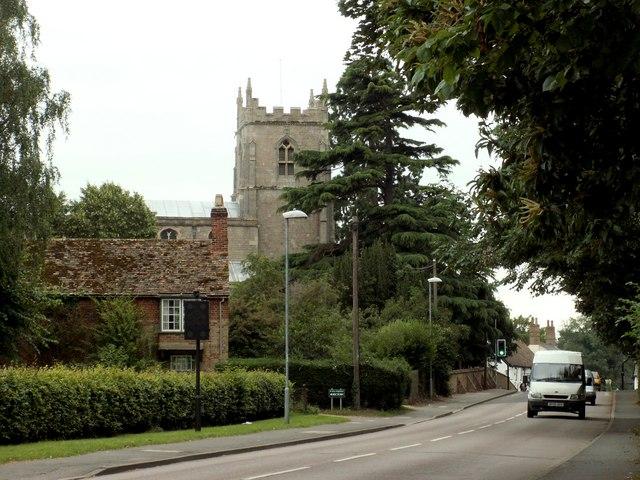 St. Mary's church at Brampton