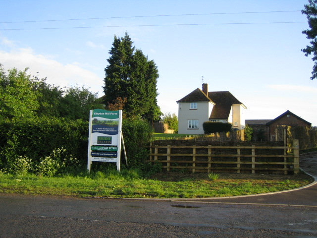 Housing development, Claydon Hill Farm near Padbury