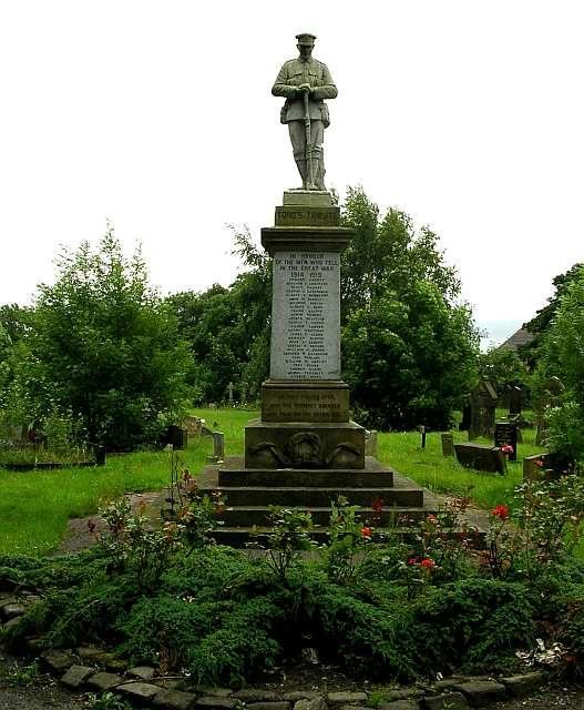 War Memorial at Tong Cemetery