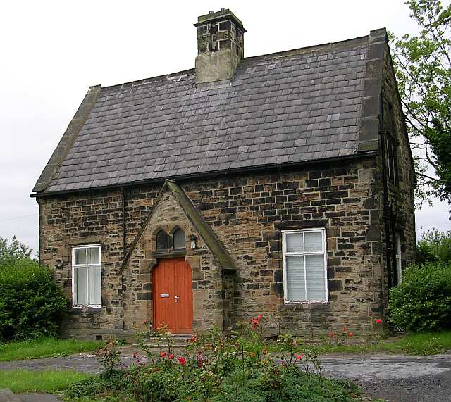 Lodge at Tong Cemetery