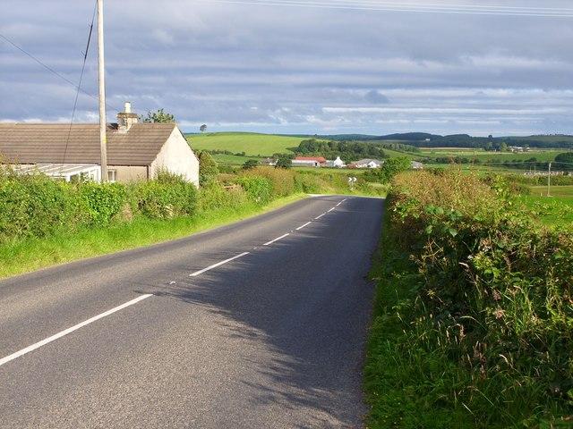 A714 outside Kirkinner