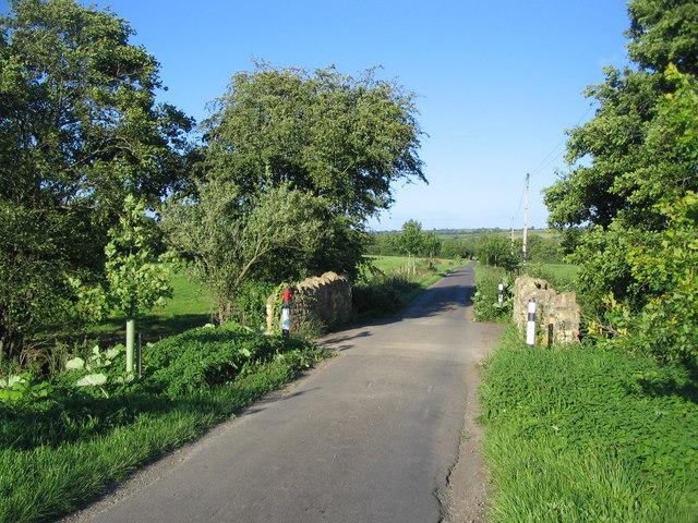 Bridge on the lane to Spargrove