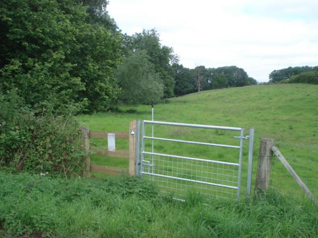 New footpath at Underley Farm