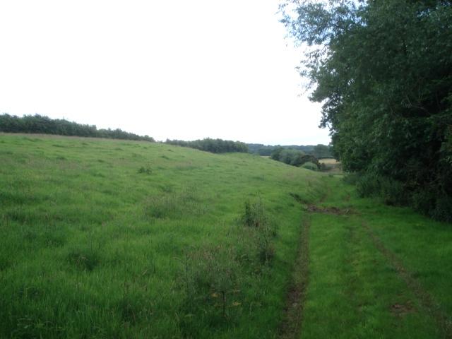 Footpath on Underley Farm