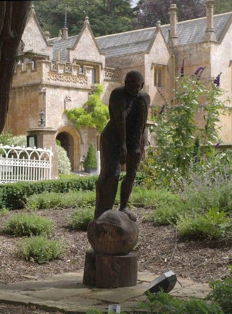 Sculpture at Dillington House
