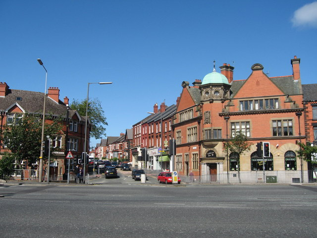 Aigburth Road and Ashfield Road Junction