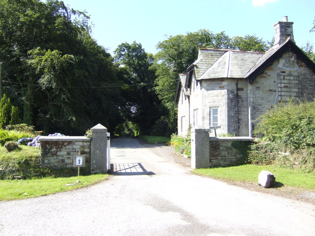 East Lodge to the Boconnoc Estate