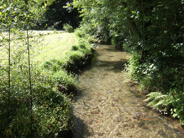 West Looe River - downstream