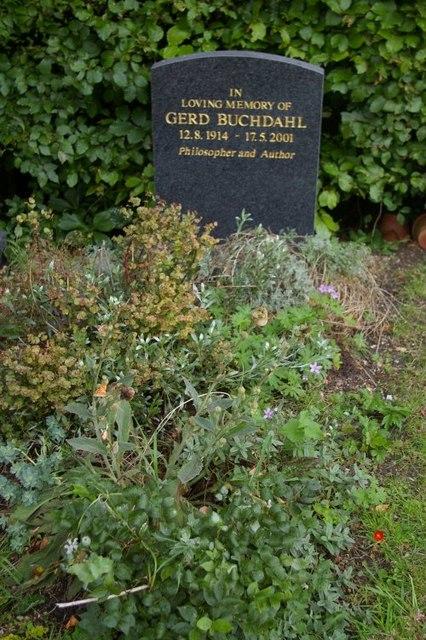 Grave of Gerd Buchdahl