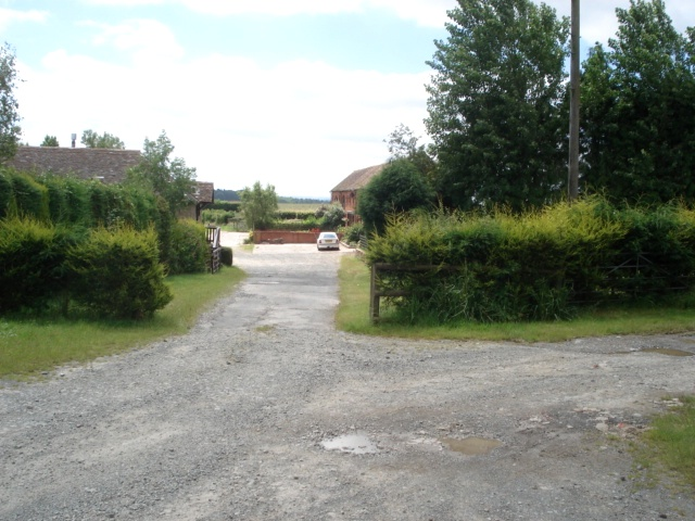 Entrance to Upper House Farm