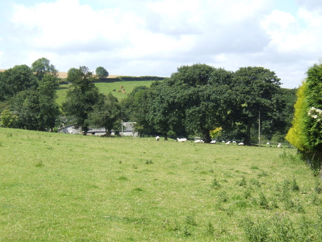 Pasture land at Pigscombe