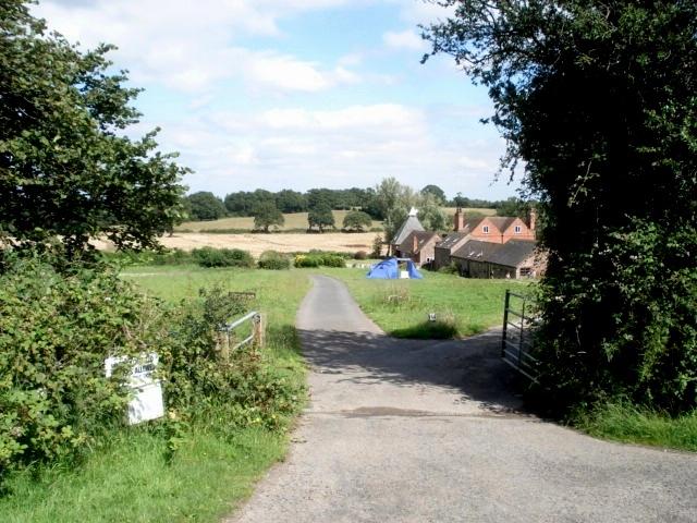 Entrance to Kyrebatch Farm