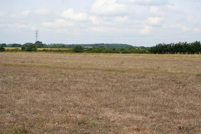 Farmland near Welby Lodge Farm