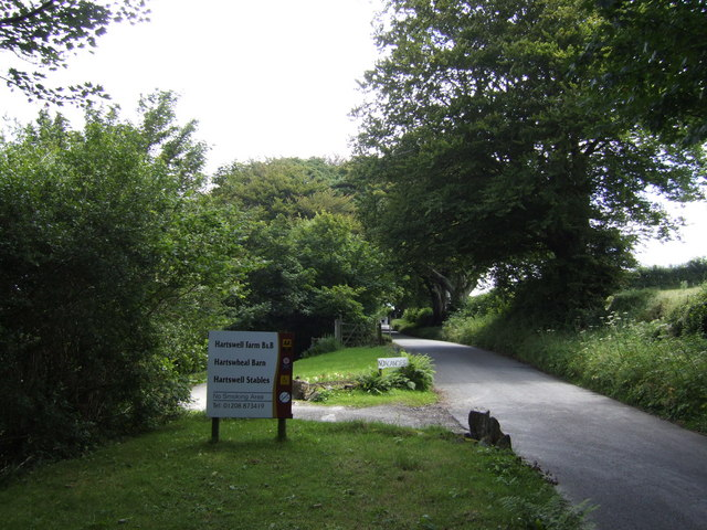 Entrance to Hartswell