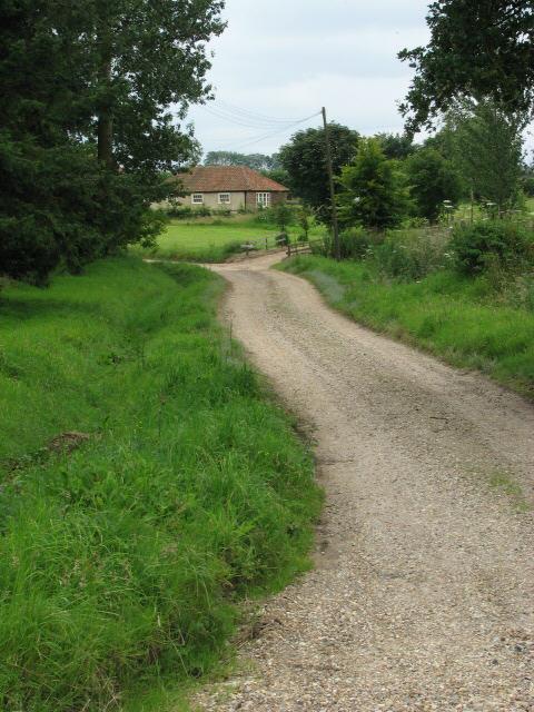 Cottage near Oaks Farm