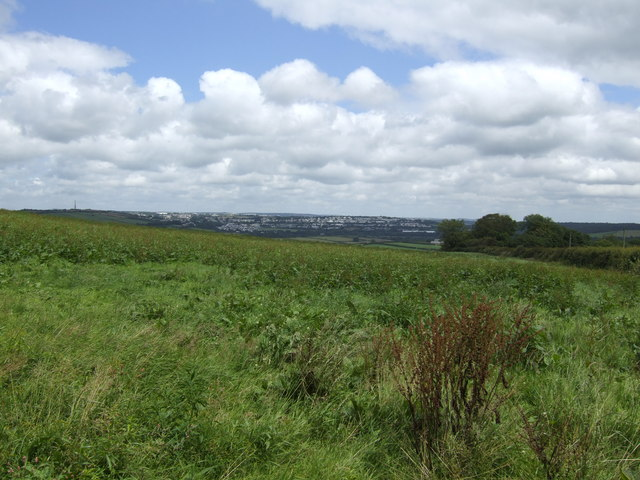 Looking north towards Bodmin and the Moor