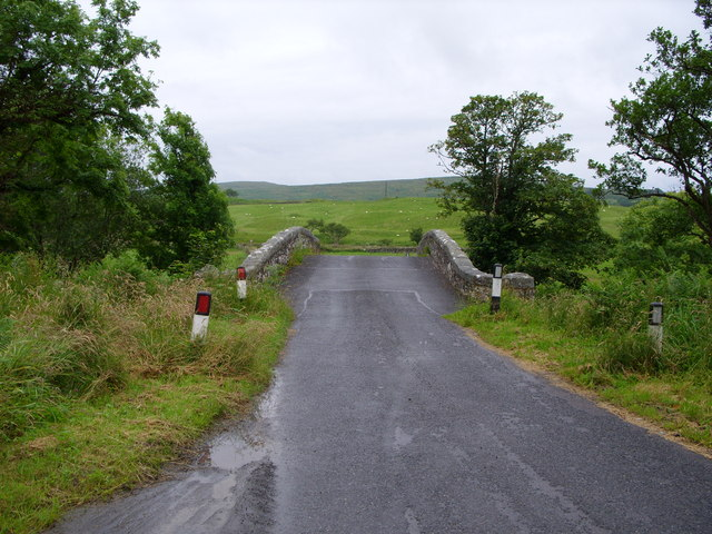 Bridge over the river Cree at Clachaneasy