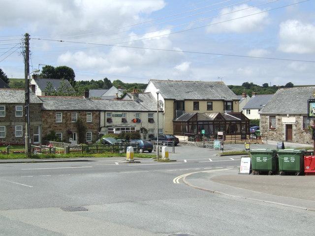 Lanivet village