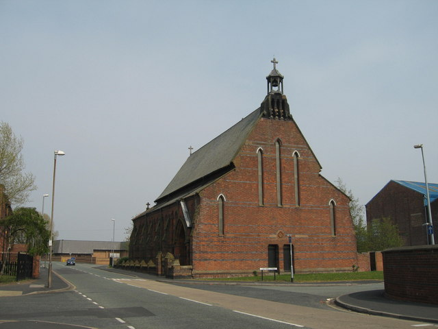 St Marie's RC Church, Lugsdale Road, Widnes