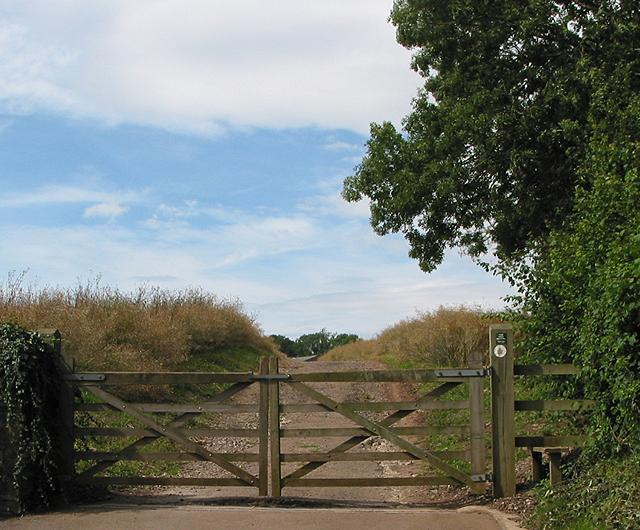 Gated entrance and stile