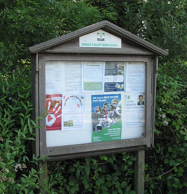 Parish Council Notice Board, Kilcot