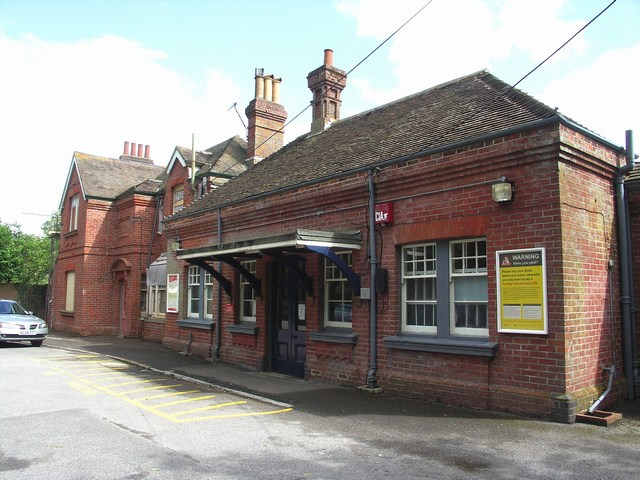 Hinton Admiral Station Building