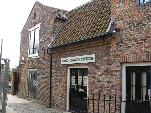Green Dragon Studios (used to be the Information Centre/ Museum)