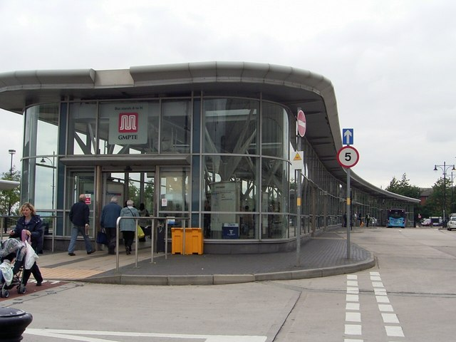 Oldham Bus Station.