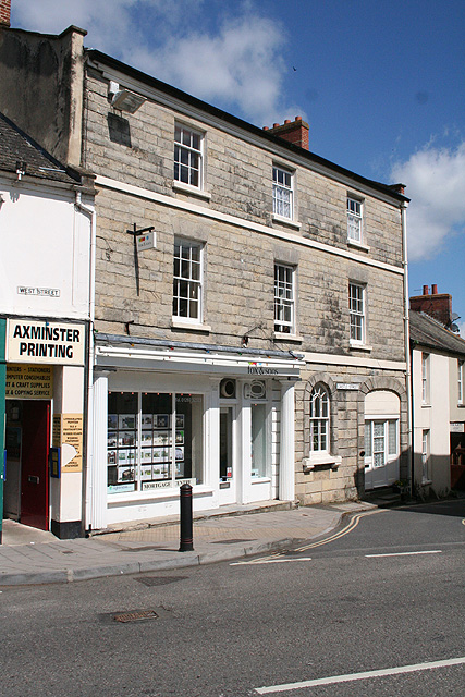Axminster: West Street and Castle Street