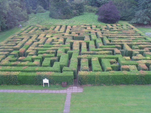 The maze at Traquair