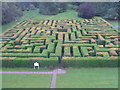 NT3335 : The maze at Traquair by M J Richardson