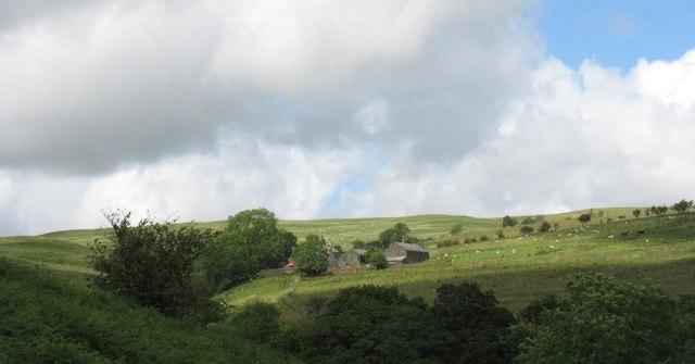The farm of Bryn-y-gath-uchaf