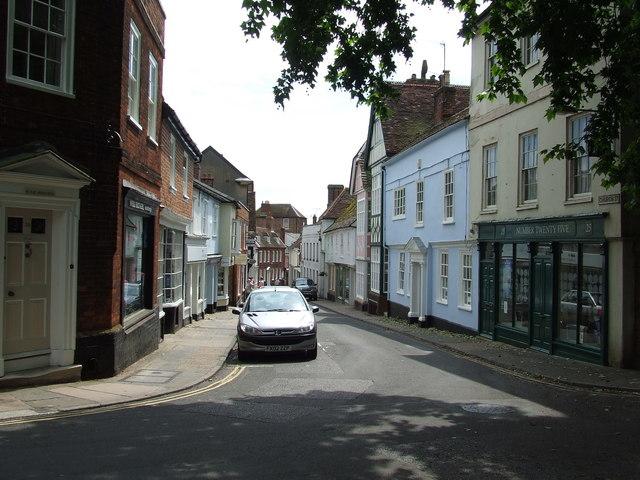 Church Street Woodbridge