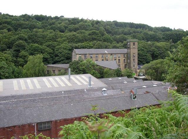 Ramsden Mills from Ramsden Mill Lane, Linthwaite