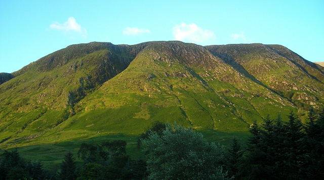 Meall an t-Suidhe at Sunset