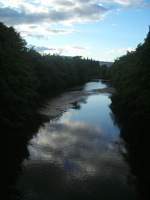 River Nevis at Sunset
