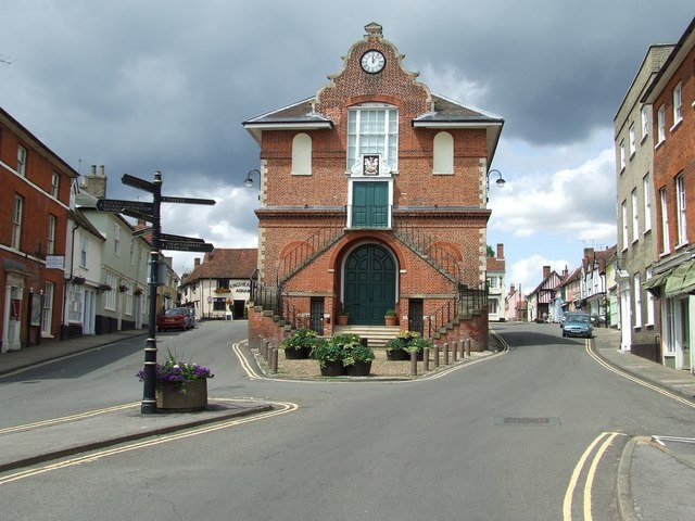 Shire Hall And Market Hill