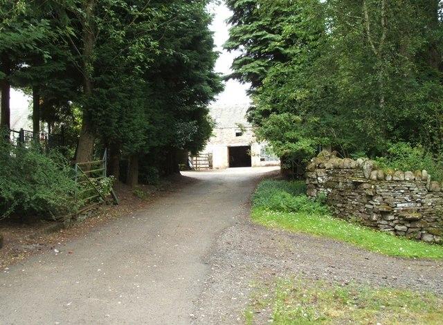Main Entrance to Lower Whiteston
