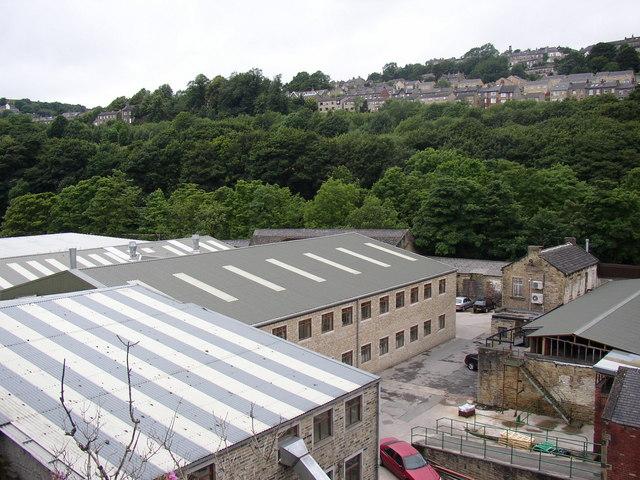New buildings, Ramsden Mills, Linthwaite