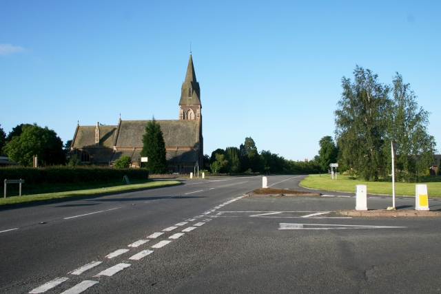 Staggered Road Junction, Welland